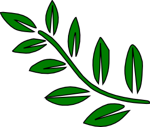 300x253 Green Tree Branch Clip Art