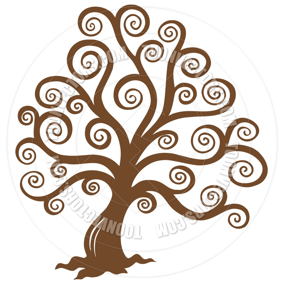 940x940 Brown Tree Without Leaves Clipart 2145110