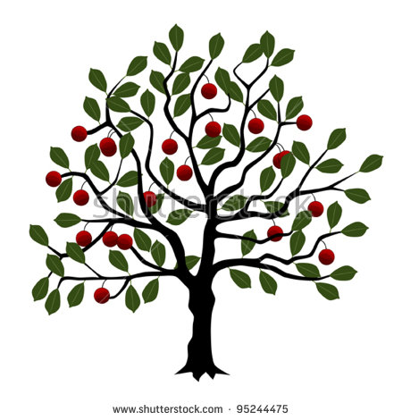 450x470 Transverse Tree Branches Clipart