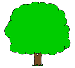 250x226 Cartoon Trees Step by Step Drawing Lesson