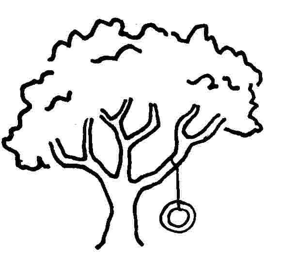 580x537 Drawn tree cartoon