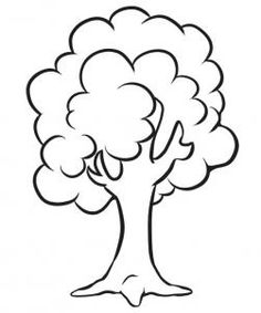 236x283 How to Draw a Simple Tree, Step by Step, Trees, Pop Culture, FREE