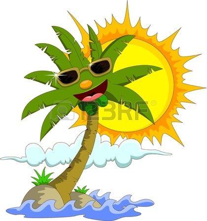 420x450 Best 25+ Cartoon palm tree ideas Palm tree crafts