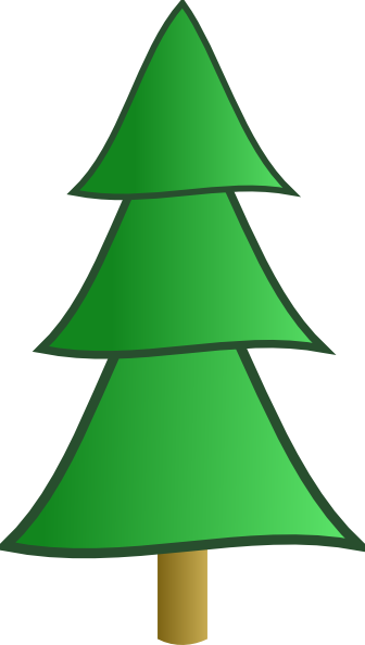 336x594 Fir Tree Clip Art Free Vector 4vector