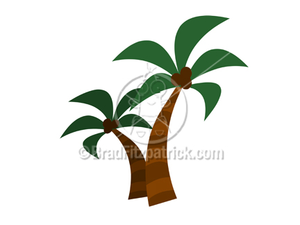432x324 Cartoon Palm Trees Clipart Picture Royalty Free Palm Tree Clip