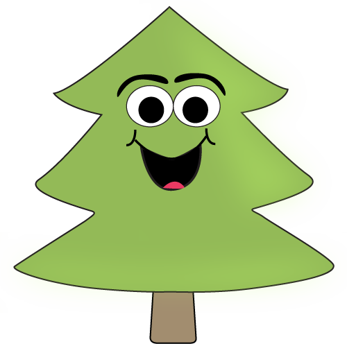 500x496 Cartoon Tree Clip Art