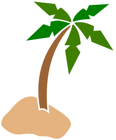 492x596 Coconut Tree Clip Art