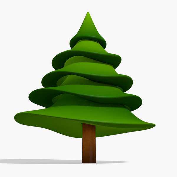 600x600 Pine Tree Clipart Cartoon