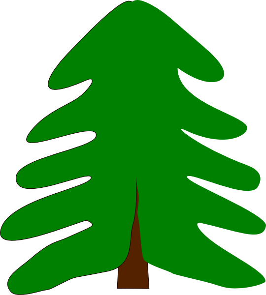 540x600 Plant Tree Cartoon Png, Svg Clip Art For Web