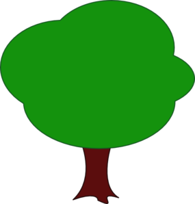 285x298 Tree Cartoon Cute Clip Art