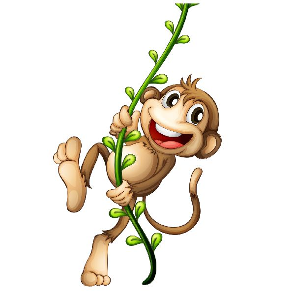 600x600 Year Of The Monkey Clipart Tree Png