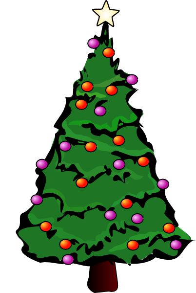 402x599 Cartoon Christmas Tree Png Find Craft Ideas