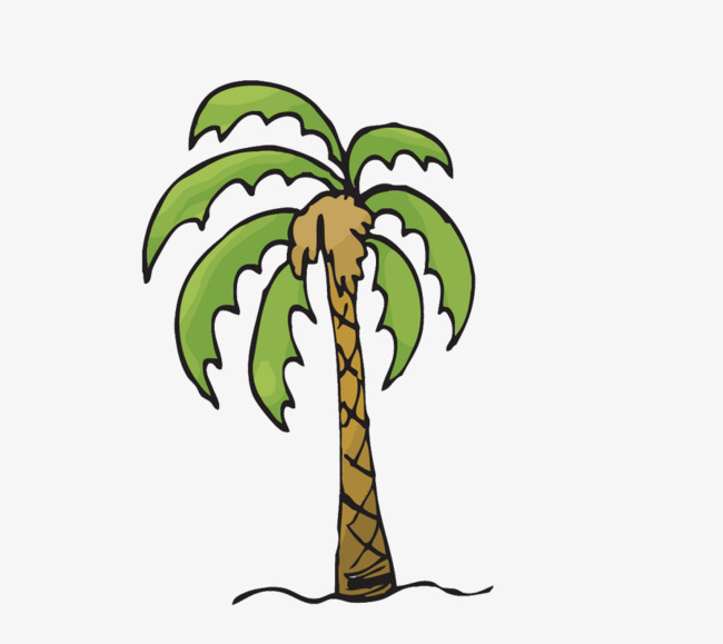 650x579 Tropical Palm Trees, Coconut Tree, Trees, Cartoon Png And Psd File