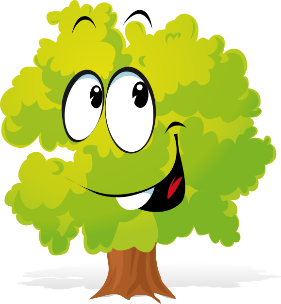 579x625 Cartoon Tree