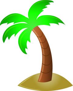 240x300 Top 81 Palm Tree Clip Art