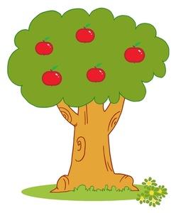 248x300 Top 88 Apple Tree Clip Art
