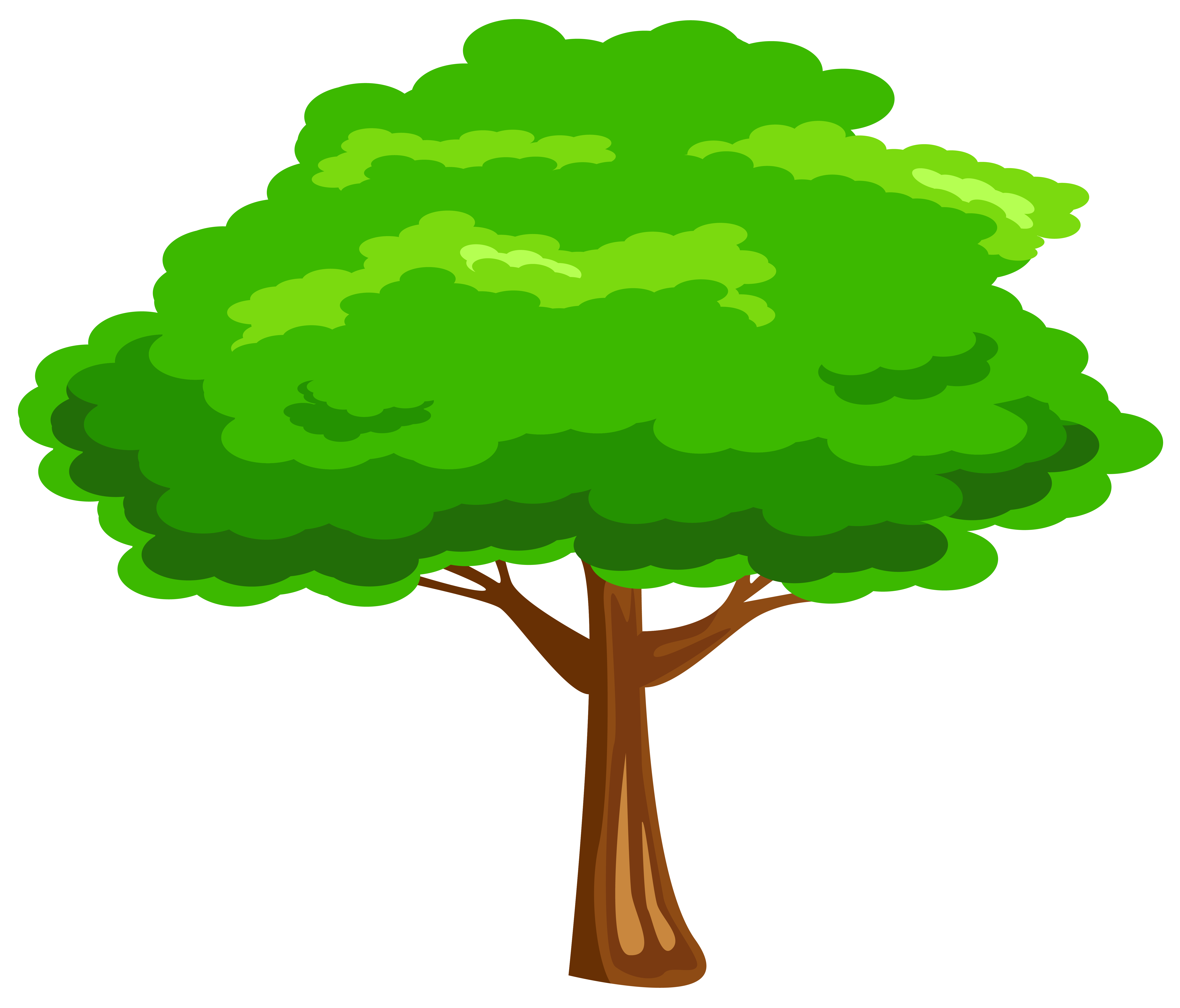6312x5396 Tree Clipart Green Tree