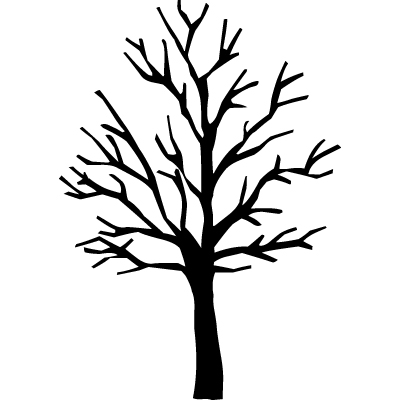 400x400 Lovely Idea Bare Tree Clipart Clip Art At Clker Com Vector Online