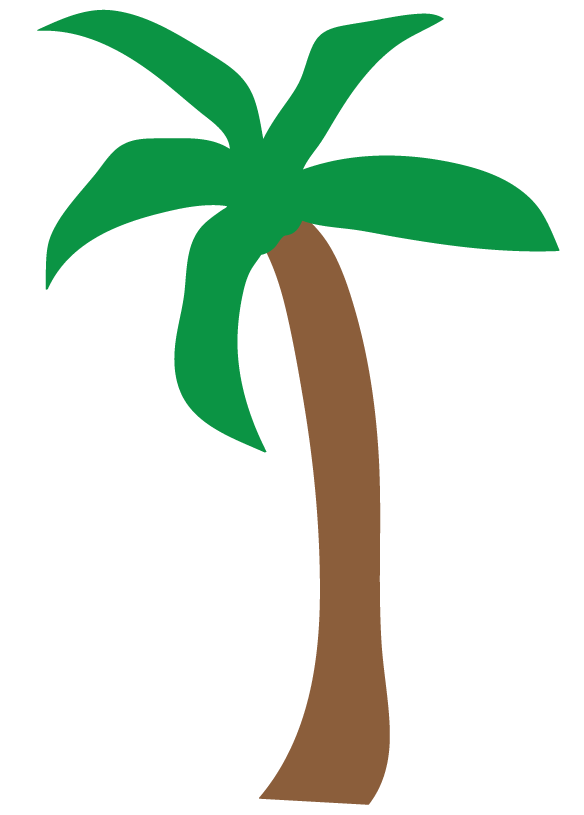 584x815 Free Clipart Pictures Palm Trees