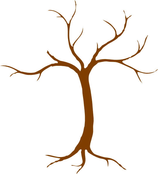 540x595 Tree Clip Art