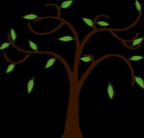 298x285 Tree Leaves Clip Art