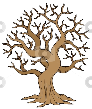 379x450 Tree With No Leaves Clipart