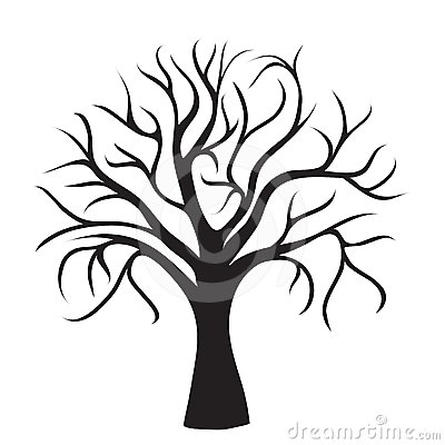 400x400 Tree With No Leaves Clipart