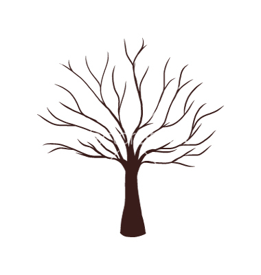 380x400 Tree Without Leaves Clipart