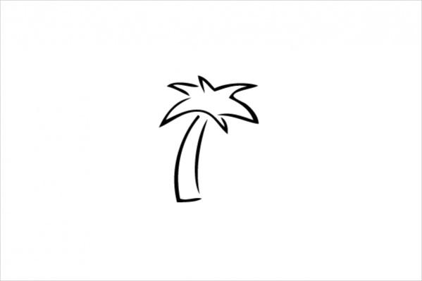 599x399 Palm Tree Cliparts