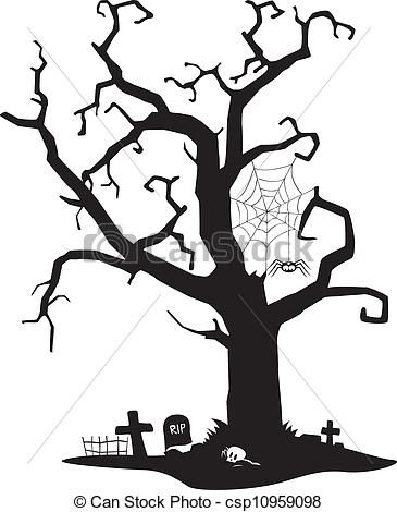 Tree Clipart Outline