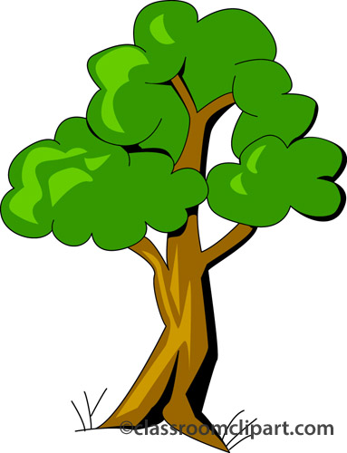 383x500 Clipart Of A Tree