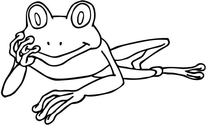 Tree Frog Coloring Pages   Free download best Tree Frog Coloring ...