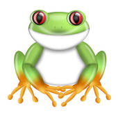 170x170 Red Eyed Tree Frog Clipart