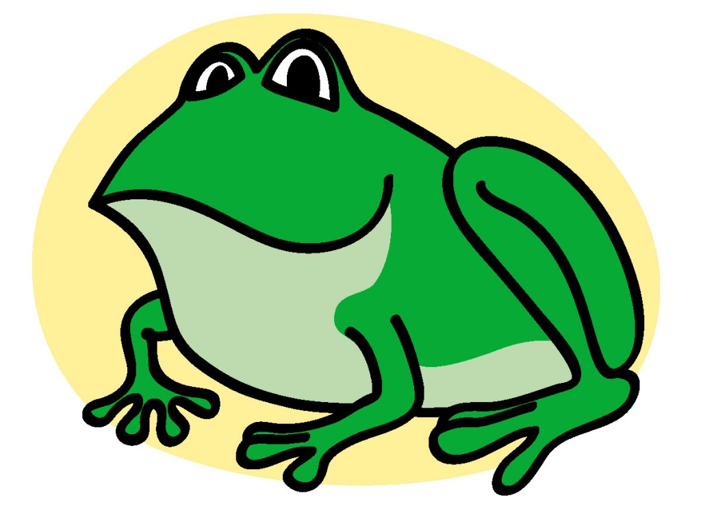 1024x768 Top 88 Frog Clip Art