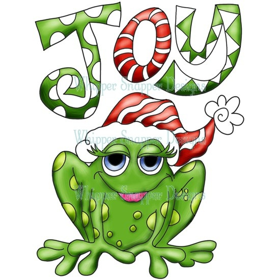 550x550 Tree Frog Clipart Christmas