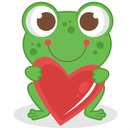 432x432 Cute Frog Clipart
