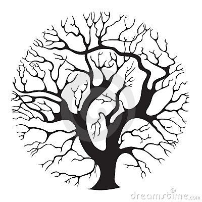 400x400 Coloring Pages Oak Tree Line Drawing Line Drawing Of Oak Tree