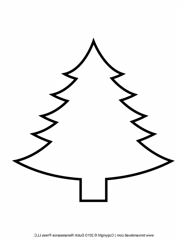Christmas Tree Line Drawing Images : Tree line drawing free download best