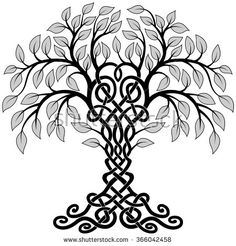 236x246 Free Celtic Tree Clip Art