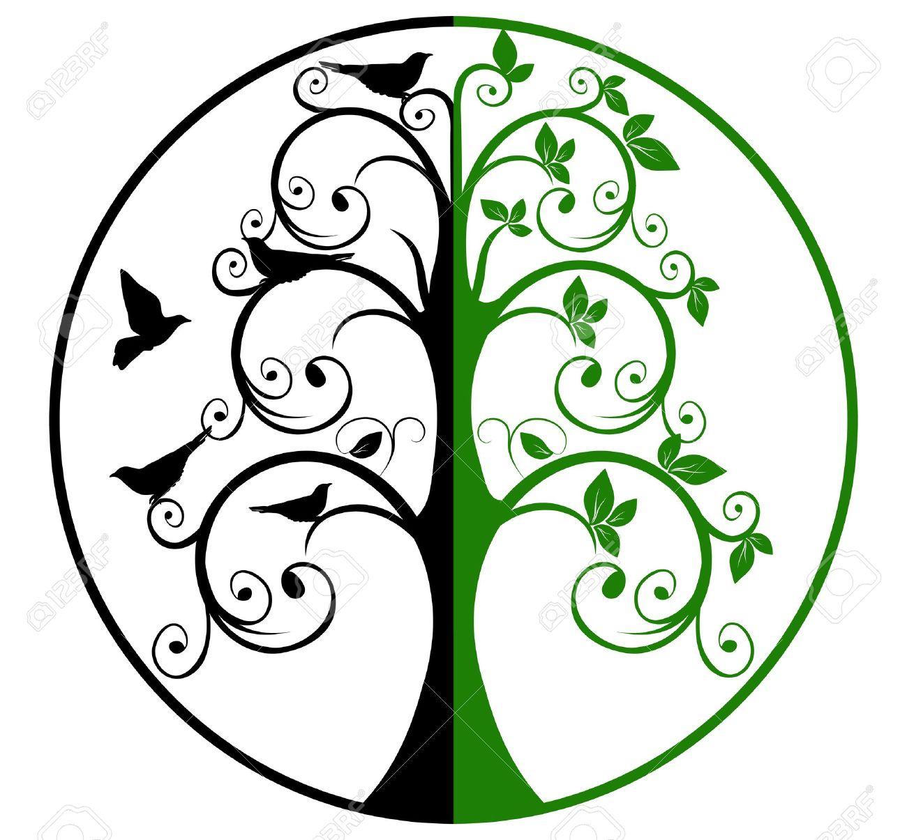 1300x1205 Life Clipart Tree