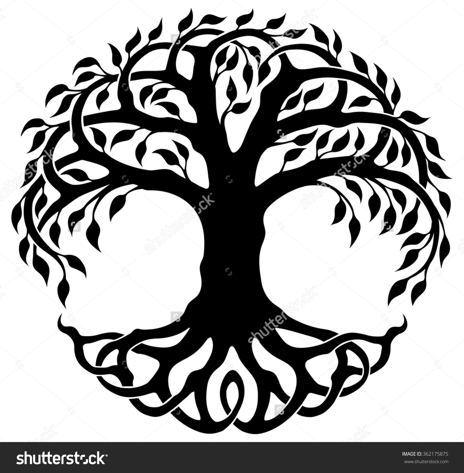 1500x1528 Free Celtic Tree Of Life Clipart