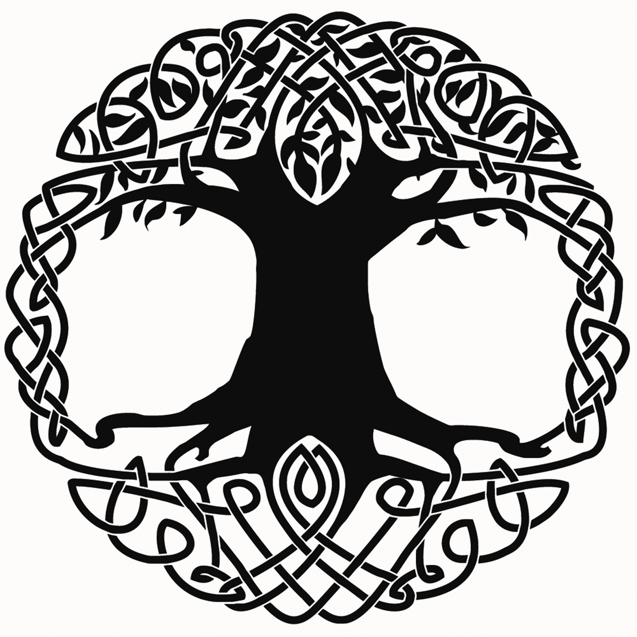 1280x1280 Celtic Tree Of Life Clipart