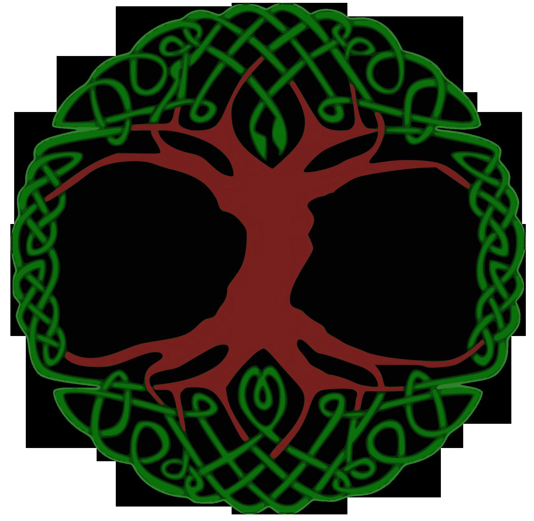 1697x1656 Celtic Tree Of Life Infinity Knot Tie Dye Tapestry Bedspread