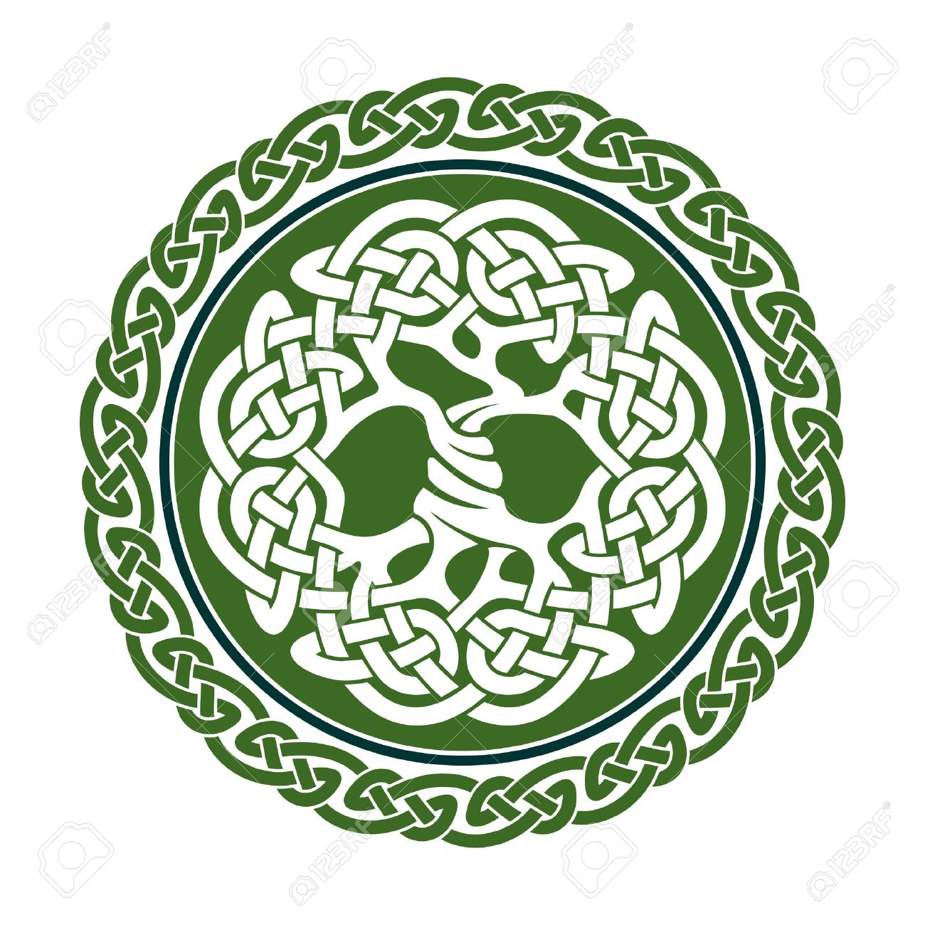 1300x1300 Illustration Of Celtic Tree Of Life, Vector Illustration Royalty