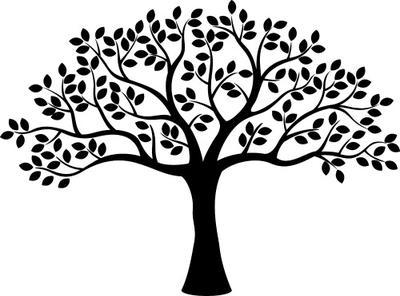 400x296 Tree Silhouettes Clipart Clip Art, Family Tree Clipart Clip Art