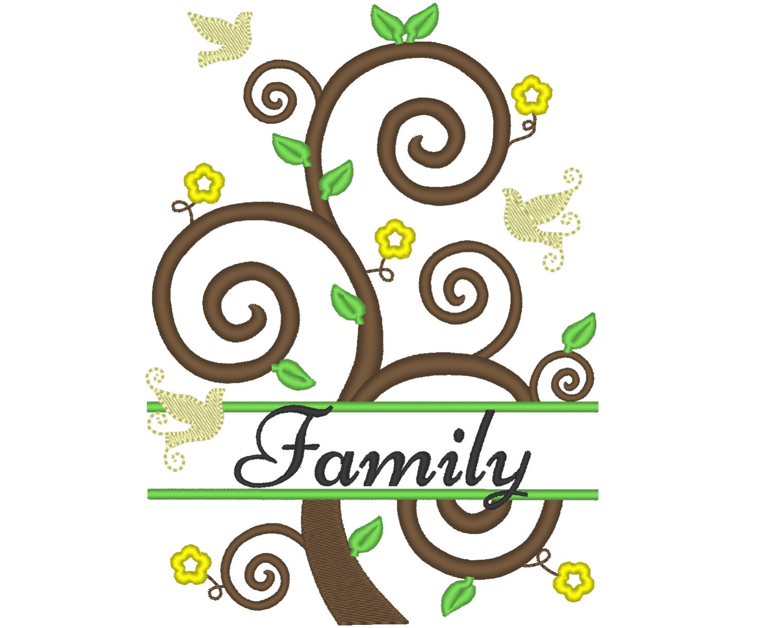 1500x1222 Tree Of Life Family Tree And 2 Mini Fonts Included