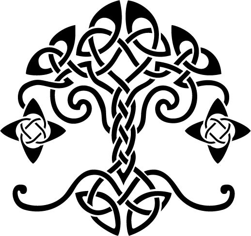 518x488 Free Celtic Tree Of Life Clipart