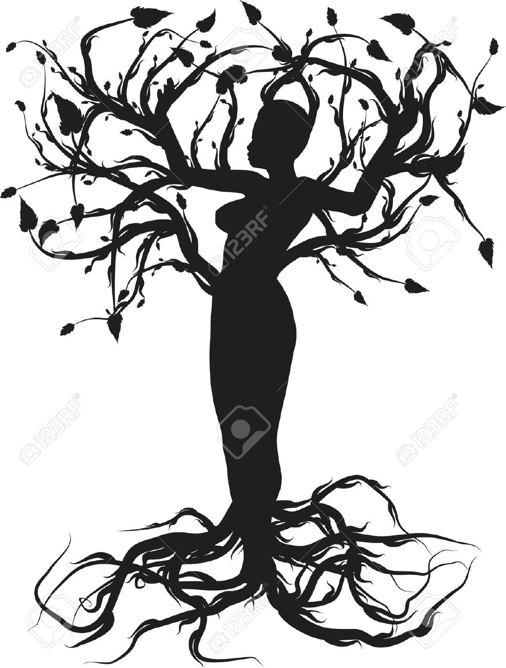 985x1300 Black And White Tree Of Life Clipart Collection