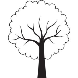 Tree Outline | Free download on ClipArtMag