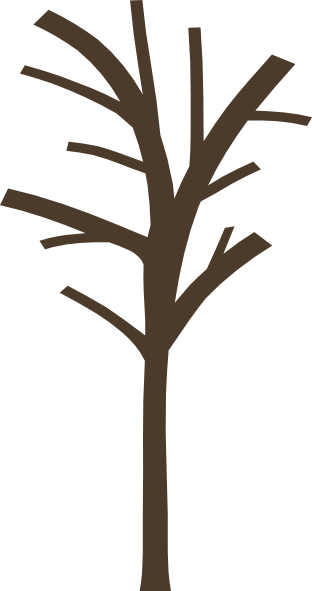 312x591 Dead Tree Bare Tree Clip Art